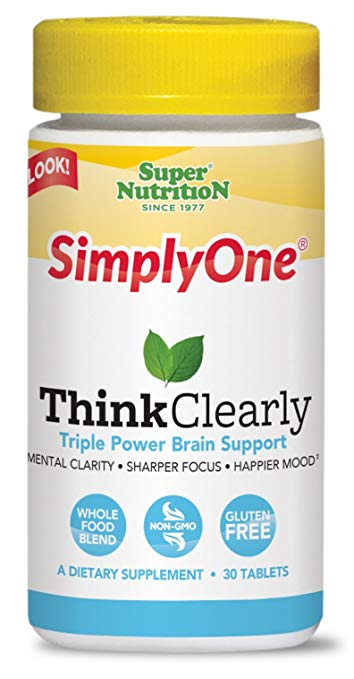 SuperNutrition SimplyOne Think Clearly