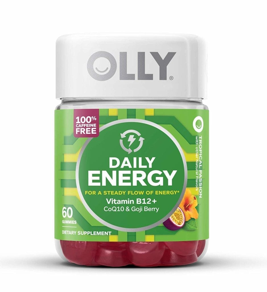 OLLY Daily Energy Gummy Supplement