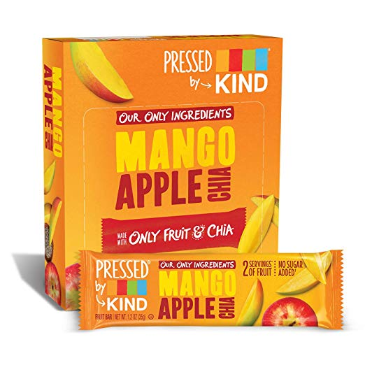 Pressed by KIND Fruit Bars, Mango Apple Chia