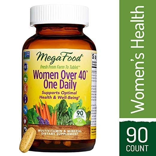 MegaFood - Women Over 40 One Daily, Multivitamin Support