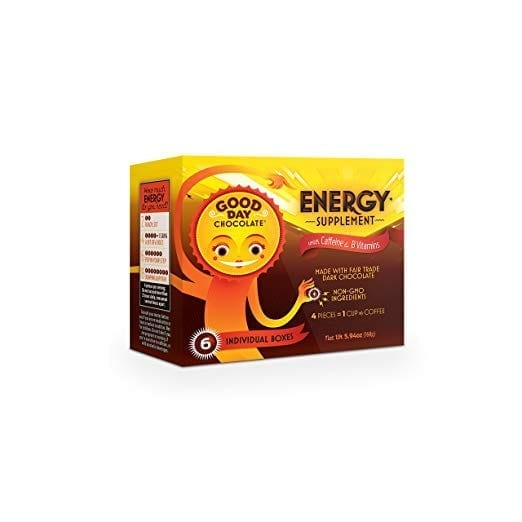 Good Day Chocolate Energy Supplement with Caffeine