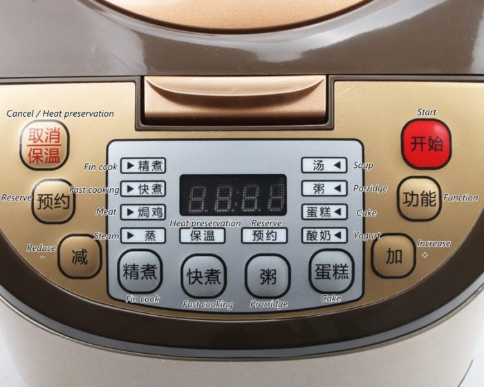 Electric Pressure Cooker Food Multi-Cooker