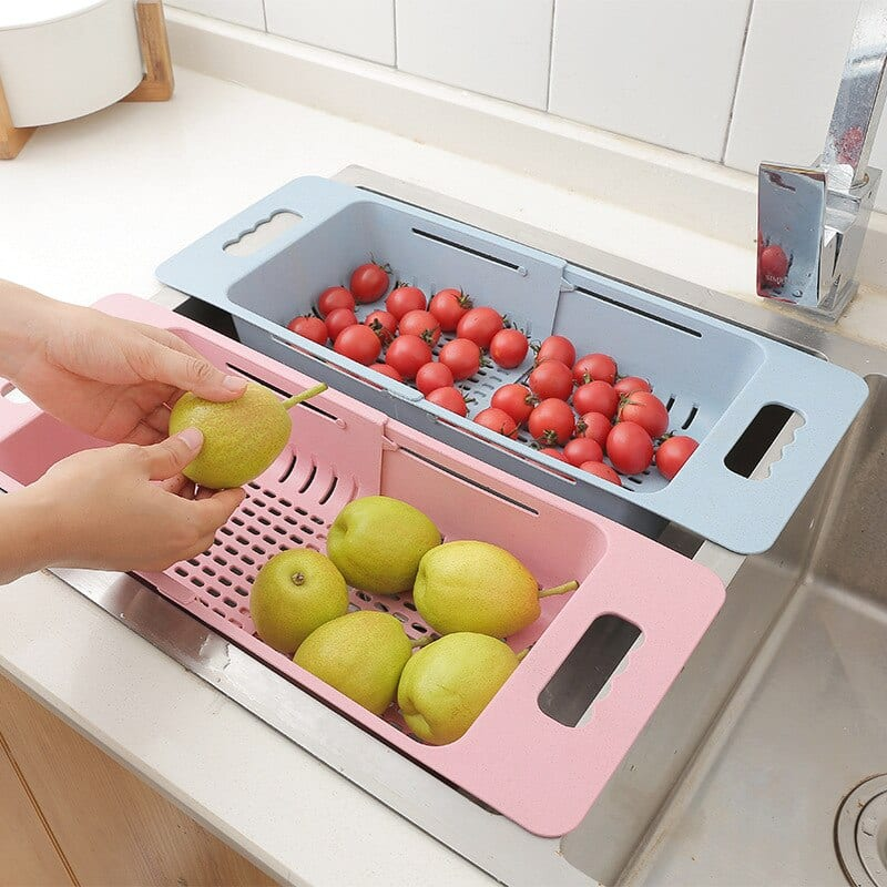 Adjustable Vegetable And Fruit Drainer